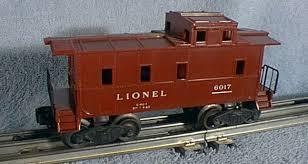 caboose l cabooses sp style 6017 lionel lines lionel trains library