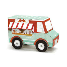 100 Toy Ice Cream Truck Buy Krooom Fold My Car Eco Friendly Activity