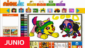 Nick Jr Coloring Book Games