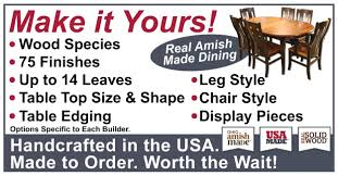 Amish Dining Room Furniture At BILTRITE