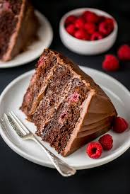 Chocolate Raspberry Cake Baker by Nature