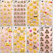 Fashion Lovely Funny Emoji Case For iphone 6 6s 5 5s se 7 8 Plus X