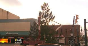 Christmas Tree Cataract Surgery by Ruining Holiday Spirit Pennsylvania Town To Replace Ugly