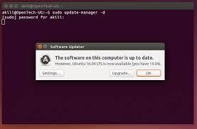 Install Lamp Ubuntu 1404 Aws by How To Upgrade To Ubuntu 16 04 Lts From Ubuntu 14 04 Lts