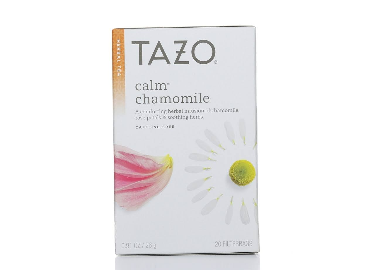 Tazo Calm Chamomile Herbal Tea - 20 Filter Bags