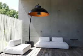 heatsail dome infrarot heizstrahler mit beleuchtung bogenle stehle inkl 4 räder schwarz 180 cm