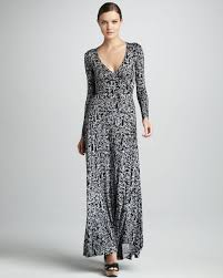 rachel pally print wrapped maxi dress womens in black lyst
