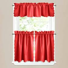 Amazon Yellow Kitchen Curtains by Curtain Rods Amazon Glamorous Yellow And Red Kitchen Curtains