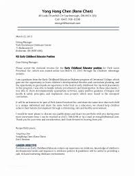 Daycare Cover Letter Examples Child Care Director Resume Job And Template Of