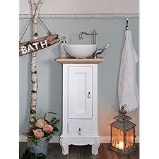landhaus waschtisch gäste wc bad unterschrank mit
