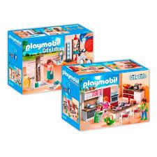 playmobil 9268 9 modernes wohnhaus set 4 2er set