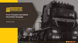 100 Kansas City Trucking Co Mpany Premium PowerPoint Template SlideStore