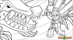 Uncategorized Coloring Pages Lego Ninjago Awesome Zane And His Ice Dragon Page Printable