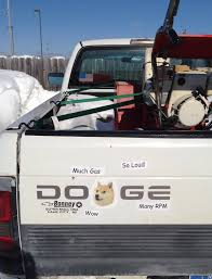 IRTI - Funny Picture #6530 - Tags: Dodge Doge Truck Stickers Wow