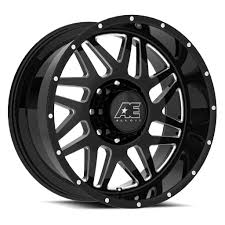 AE Exclusive! AE Hardrock - Series 5158 - Gloss Black & Milled ... Konig Centigram Wheels Matte Black With Machined Center Rims Amazoncom Truck Suv Automotive Street Offroad Ultra Motsports 174t Nomad Trailer Eagle Alloys Tires 023 Socal Custom Ae Exclusive Hardrock Series 5128 Gloss Milled Part Number R29670xp A1 Harley Fat Bob Screaming Vance Hines Pro Pipe What Makes American A Power Player In The Wheel Industry Alloy 219real 6