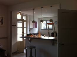 declic cuisine eclairage d une cuisine avec suspensions déclic et spots à led