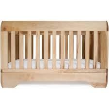 chambre bébé bois naturel lit bébé echo bois brut 70x140 bambins déco