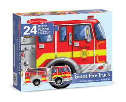 Melissa & Doug Fire Truck Floor Puzzle 4 Pieces The Bubble Room ... Melissa Doug Big Truck Building Set Aaa What Animal Rescue Shapesorting Alphabet What 2 Buy 4 Kids And Wooden Safari Carterscom 12759 Mega Racecar Carrier Tractor Fire Indoor Corrugate Cboard Playhouse Food Personalized Miles Kimball Floor Puzzle 24 Piece Beep Cars Trucks Jigsaw Toy Toys For 1224 Month Classic Wood Radar
