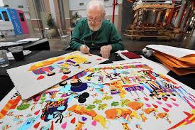 Beatles Help Lava Lamp by Ron Campbell Legendary Beatles Cartoon Animator Makes Appearance