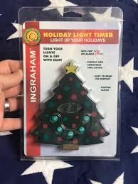 Ingraham Holiday Light Timer Christmas Tree Alarm RARE