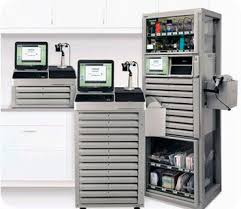 medicine automated dispensing cabinet with computer mts