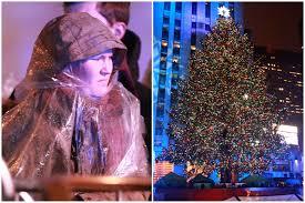 Christmas Tree Rockefeller Center 2016 by Rain Extra Security Ruin Rockefeller Christmas Tree Lighting