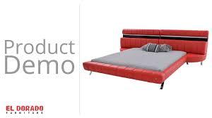 Mantua Bed Frames by Boca Red King Platform Bed Dbu Youtube
