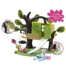 peppa pig treehouse playset la cabane dans l arbre maison et