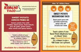 Sweets On The Street! | North Carolina Sweet Potatoes 333tacomenu Best Food Trucks Bay Area Miami Truck Catering Page Burger Beast 77 Menu Template Creative And Ultimate Guide To Display Options For Theme Ideas And Inspiration Truck Menus Louziana Restaurant Pounders Cluck Augustas Subs Salads Bacons Bbq Barbeque The Images Collection Of Menu Mplate Psd Flyer Restaurant A Amgencafes At Amgen