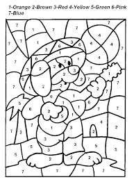 Coloring Pages Color By Number Pristiname Numbers Books