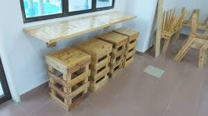 Diy Pallet Wall Table Pallet Wood Sofa Side Table