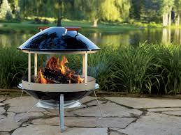 Amazon Weber 2726 Wood Burning Fireplace Outdoor