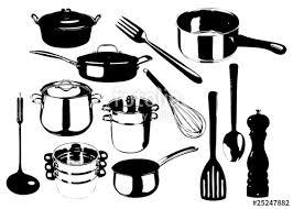 ustensiles de cuisine 2 fichier vectoriel libre de droits sur la