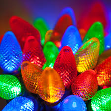 led christmas lights 25 c7 multi color led christmas lights 8