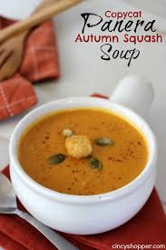 Pumpkin Butternut Squash Soup Vegan by Copycat Panera Autumn Squash Soup Recipe Squash Soup Copycat