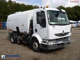 بيع سيارات كنس الشوارع RENAULT Midlum 240 Dxi 4x2 Refuse Truck ...