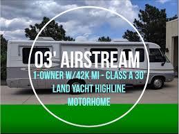 100 Used Airstream For Sale Colorado 2003 LAND YACHT P30 Springs CO RVtradercom