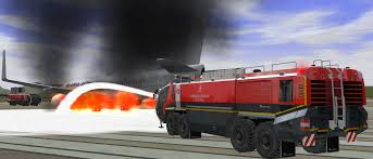 ARFF Training Simulator For Airport Driver Training   Training For ... Public Invited To Glacier Valley Fire Station Open House Free Rides Used Okosh Arff Parts Team Eagle Ltd Airport Fire Truck 6x6 Superimpact X6 Iveco Magirus 3d Model Kosh Striker 4500 Arff Chicagoaafirecom Apparatus Nearly 1 Million Custom Truck For Guam Pnc News First Aircraft Rescue Fighting 1997 T3000 19503000420 For Emergency Why Are Airport Firetrucks Painted Yellow Green