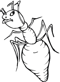 Ant Coloring Page 2135