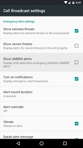 How to Turn f the Annoying Emergency & Amber Alerts on Your