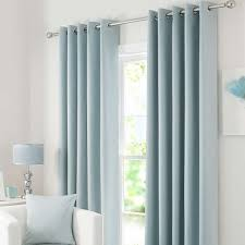 Bendable Curtain Track Dunelm by Solar Duck Egg Blackout Eyelet Curtains Dunelm Living Room