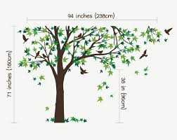 Wall Mural Decals Canada by Aliexpress Com Buy Large Mural 238x180cm Large Canada Maple Tree