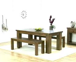 Bench Kitchen Table Dining With Set