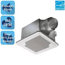 Home Depot Bathroom Exhaust Fans by Delta Breez Smart Series 150 Cfm Ceiling Bathroom Exhaust Fan