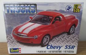 Chevrolet Chevy SSR Custom Pick-up Plastic Model Kit 1/25 ... Cars 2003 Chevy Ssr Convertible Red Truck Picture Nr 418 Chevrolet Concept 2000 Old Sold Pickup For Sale By Autohaus Of The Was A Crazy 500 Retro Photo Chevy Worst Ever Pinterest Ssr And Find Out Why Epitome Of Quirkiness The Week Autotraderca 2005 Ssr Photos Informations Articles Bestcarmagcom Bangshiftcom Want To Stand On Trails This Summer 2004 Reviews Rating Motor Trend Supercharged Sixspeed Sale