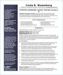 Free Teacher Resume Templates Download Sample