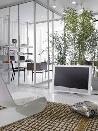 glaswand als eleganter raumtrenner bambus wohnzimm