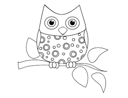 Design Inspiration Coloring Pages Owl