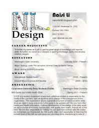 Interior Designer Resume Format Download Skills Design Examples