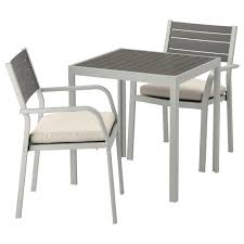 Garden Tables & Chairs | Garden Furniture Sets | IKEA Pplar Ikea Outdoor Ding Sets Komnit Fniture Set In Alinium European Design Saarinen Round Table Hivemoderncom Compare And Choose Reviewing The Best Teak Patio The Home Depot Hampton Bay Alveranda 7piece Metal With Hanover Monaco 7 Pc Two Swivel Chairs Four Alinum Restaurant Chair 5piece Rectangular Bench Barbeques Galore Styles Stone Harbor Taupe Polywood Official Store